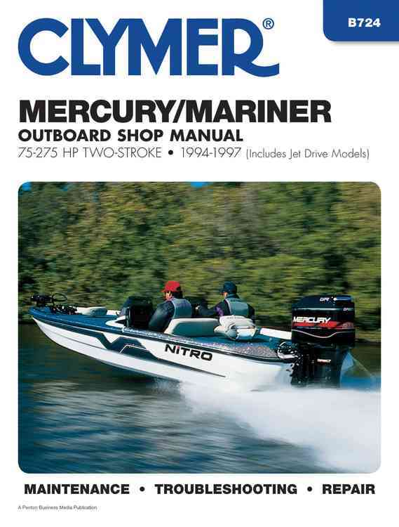 Clymer Mercury/Mariner Outboard Shop Manual By Jacobs, Mark (EDT)/ Johnson, Scott